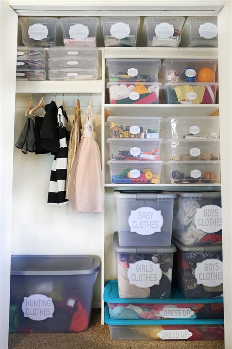 How To Organize | how to organize a kids closet classy clutter