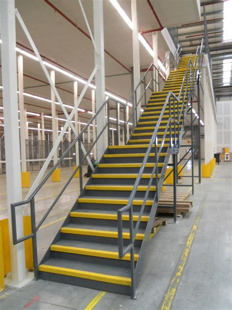 Industrial Stairs Design Retail Staircases Industrial Staircases Custom Warehouse Staircases