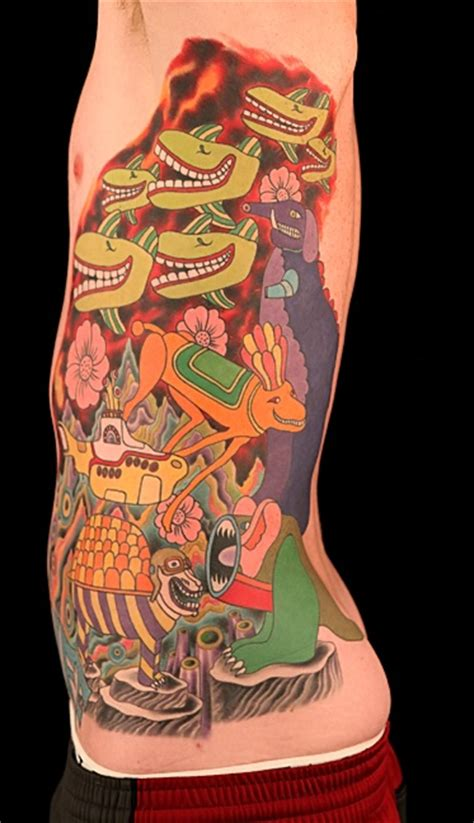 yellow submarine tattoo durbmorrison tattoos by durb morrison
