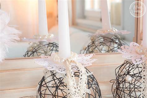deko aus draht selber machen white and vintage