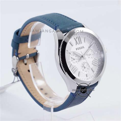 Gambar Dan Harga Jam Tangan Merk Fossil harga sarap jam tangan fossil cecile kulit biru am4531