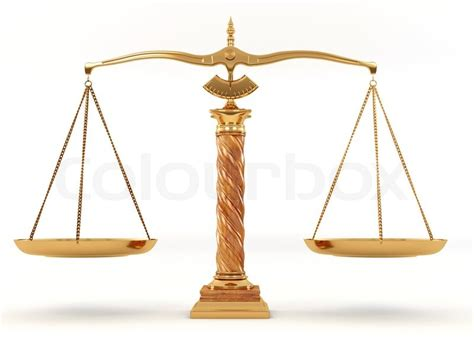 symbol  justice scale  stock photo colourbox