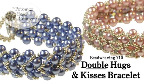 bead company make a hugs kisses bracelet