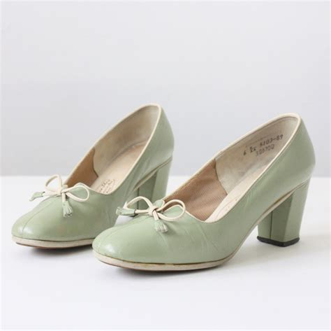 50 s shoes for 50s shoes vintage mint green 1950 s shoes size 6
