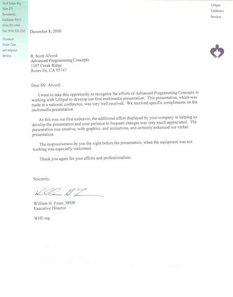 Cover Letter Letter Of Recommendation