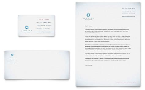 jeweler amp jewelry store business card amp letterhead
