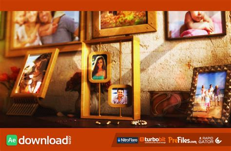free photo album templates for after effects happy family photo album videohive free download