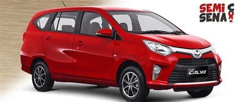 Mobil Toyota Calya harga toyota calya review spesifikasi gambar september