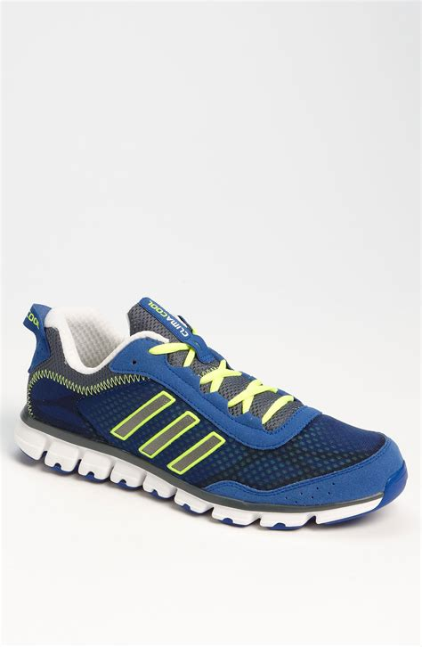 adidas climacool aerate running shoe  blue  men lyst