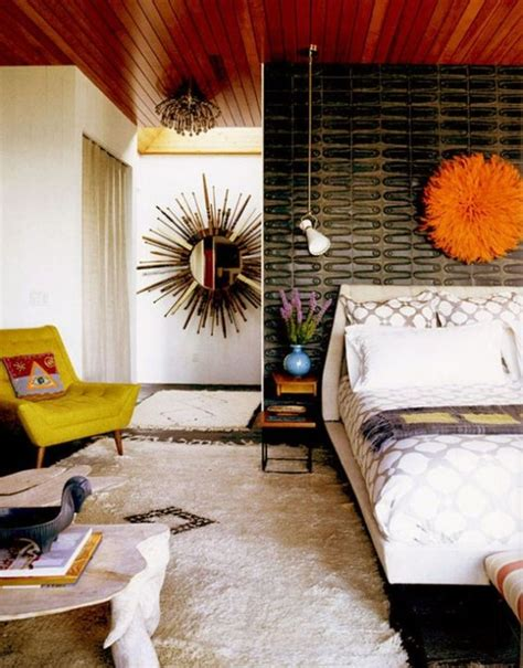 retro bedroom 30 chic and trendy mid century modern bedroom designs digsdigs