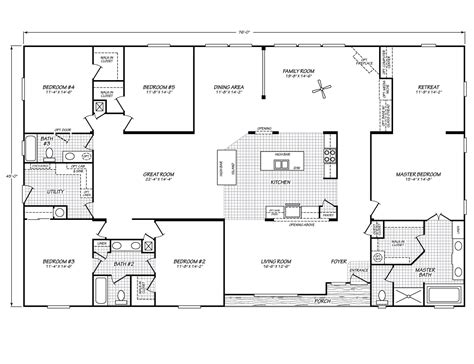 double wide home plans it might be a double wide floor plan but i love it it
