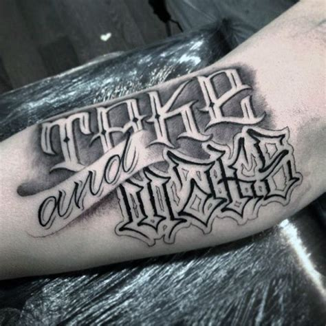 big meas tattoo big meas letterings tattoos big