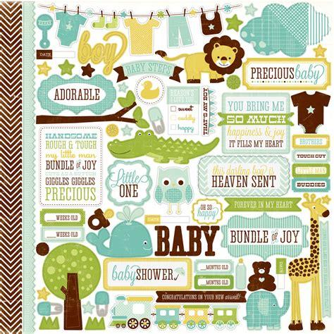 welcome home 18 park collections echo park paper co bundle of joy boy