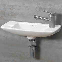 small wall mounted sinks for bathrooms wall mounted bathroom sinks for your half bath or water closet