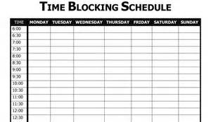 block calendar template how to be more productive and learn more japanese