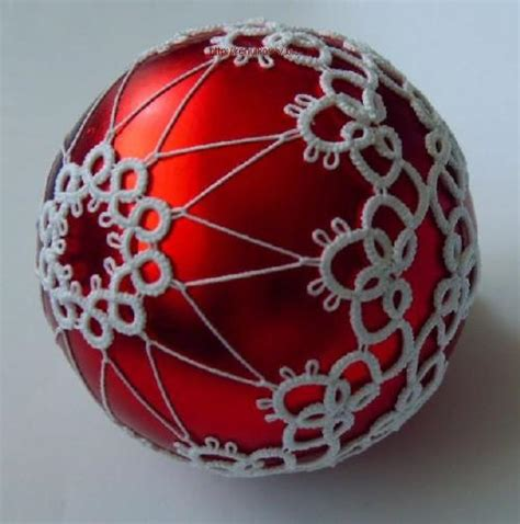 international tatting patterns lovely christmas tree