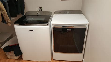 maytag vs whirlpool maytag med9800tq 27 inch electric dryer with 70 cu ft