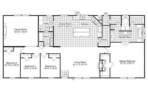 palm harbor mobile homes floor plans view the magnum home 76 floor plan for a 2584 sq ft palm