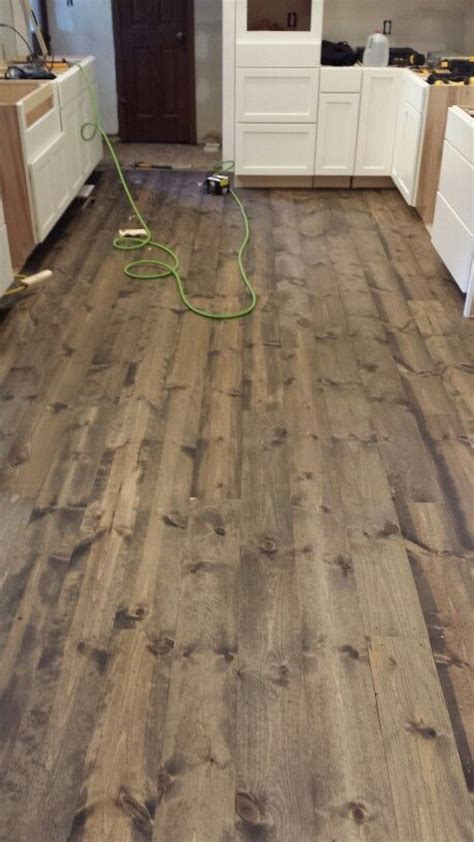 rustic wood stain colors this is rustic 1x8 pine flooring stained with minwax