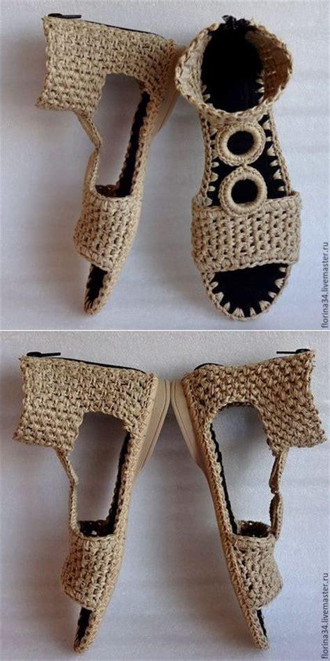 tutorial slipper rajut 25 best ideas about crochet shoes on pinterest crochet
