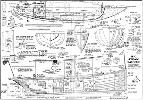 boat building plans for an electric launch victorian steam power launch 40 1 2 quot steam or electric