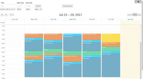 laravel calendar tutorial adminscheduler app a good app made using electron and