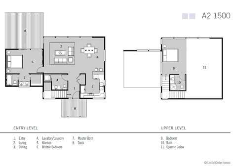 lindal cedar homes floor plans lindal homes puts a green twist on the classic a frame lindal maf a2 1500 inhabitat green