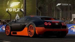 Forza 5 Bugatti Bugatti Veyron Sport De Motaudi Fan Dans La Vitrine