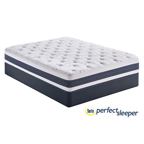 full bed mattress shadow falls plush full mattress and foundation set