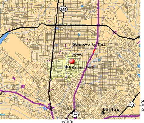 map of highland park texas 75205 zip code highland park texas profile homes apartments schools population income