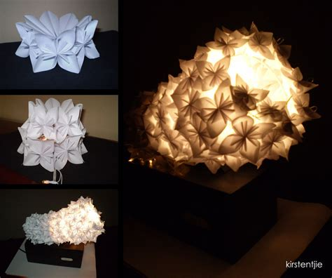 How To Make Origami Lights - origami light by minikikiart on deviantart
