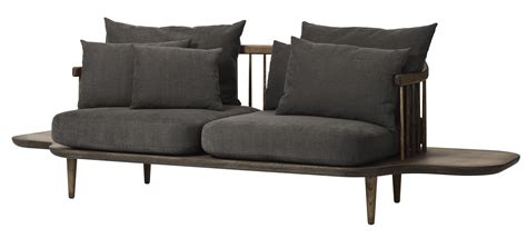 and tradition sofa fly straight sofa wood dark grey by and tradition