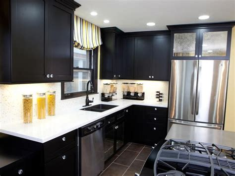 Black Kitchen Cabinets Design Ideas - black kitchen cabinets ideasdecor ideas