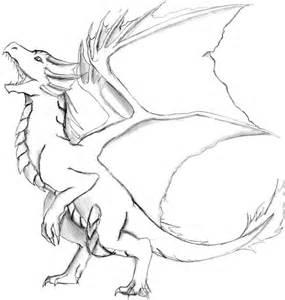 sketch dragon by khorums3 on deviantart