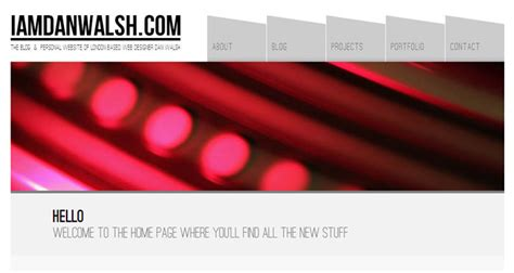 header design exles 30 interesting exles of headers in web design