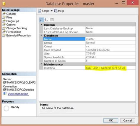 Change Table Collation Sql Server Changing Sql Server Collation After Installation