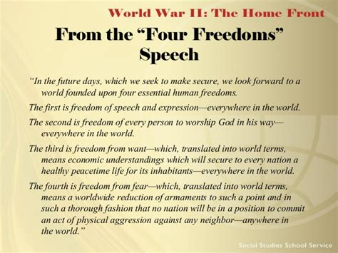 More On Battle Speeches 2 by World War 2 The Home Front