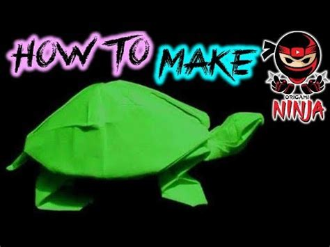 origami tutorial turtle how to make origami turtle robert j lang youtube