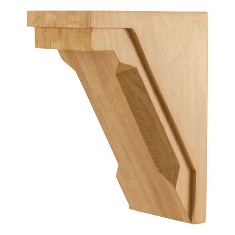 Modern Wood Corbels Modern Corbel Chamfer Edge Cor34 2 Free Shipping Available