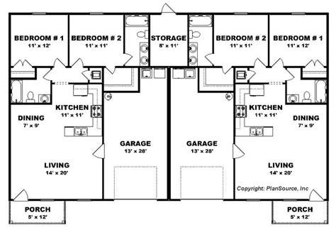 duplex house plans with garage best 25 duplex plans ideas on pinterest duplex house