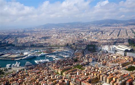 barcelona from above barcelona from above elevenroute