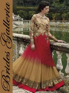 Brides galleria indian bridal anarkali frocks collection 2016 modren