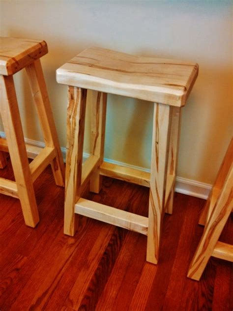 Handmade Wooden Bar Stools - saddle bar stool woodworking plans woodworking projects