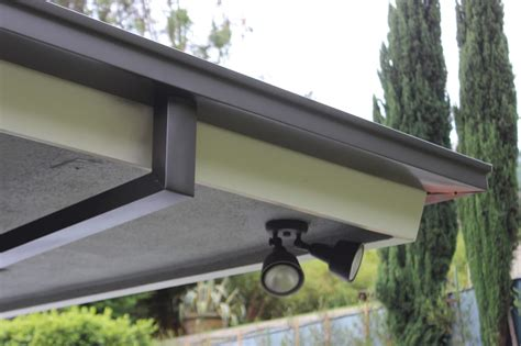 4 Inch Gutters by 5 Inch Seamless Box Style Gutters With Smooth Custom