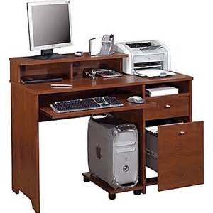 Computer Desk At Staples by Bestar Legend Computer Desk Tuscany Brown Staples 174
