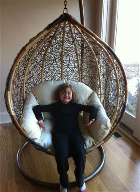 trully outdoor wicker swing chair the trully outdoor wicker swing chair