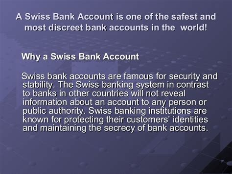 swiss bank open account swiss bank account opening