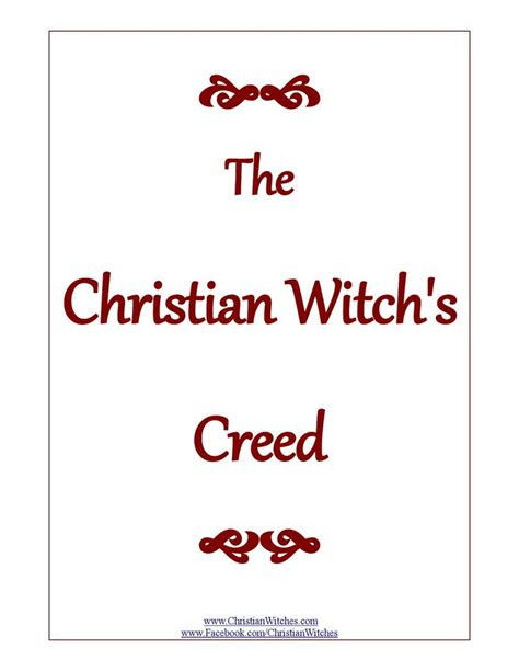 Christian Symbolism In The The Witch And The Wardrobe by The Christian Witch S Creed