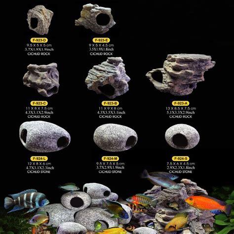 Fish Tank Rock Decorations fish tank decorations for cichlids aquarium rock cave