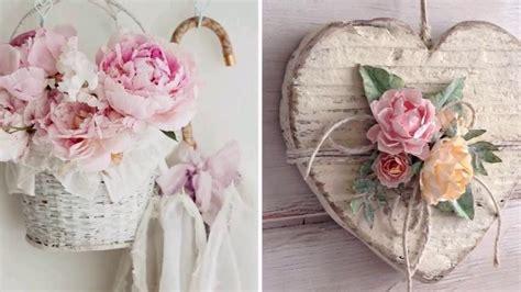 diy shabby chic style flower decor ideas 2017 my crafts